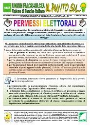 Il Punto Su n.9/2014 - Permessi Elettorali