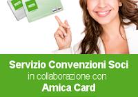 Amica Card - Convenzione UNISIN