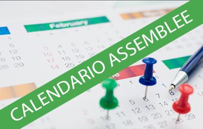 CALENDARIO ASSEMBLEE
