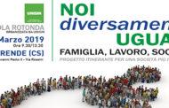 Noi Diversamente Uguali – Tavola Rotonda 22 Marzo 2019
