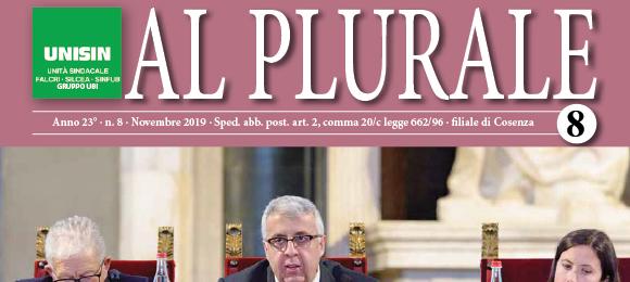 Al Plurale n.8/2019