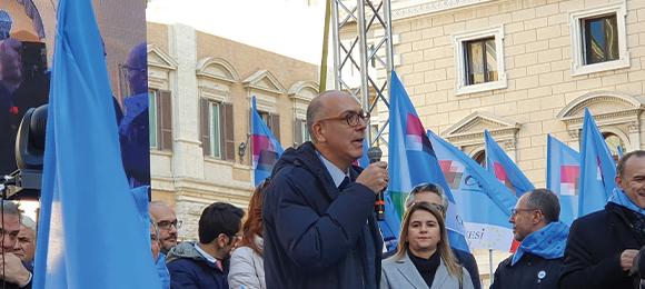 10 Dicembre 2019 - Manifestazione della Confsal a Roma