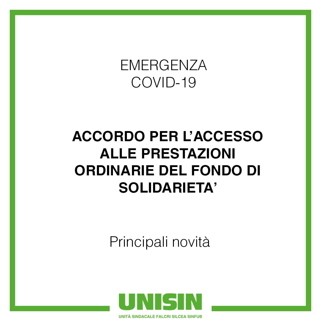 Emergenza Covid-19 - Accoro Fondo fi Solidarietà_P01