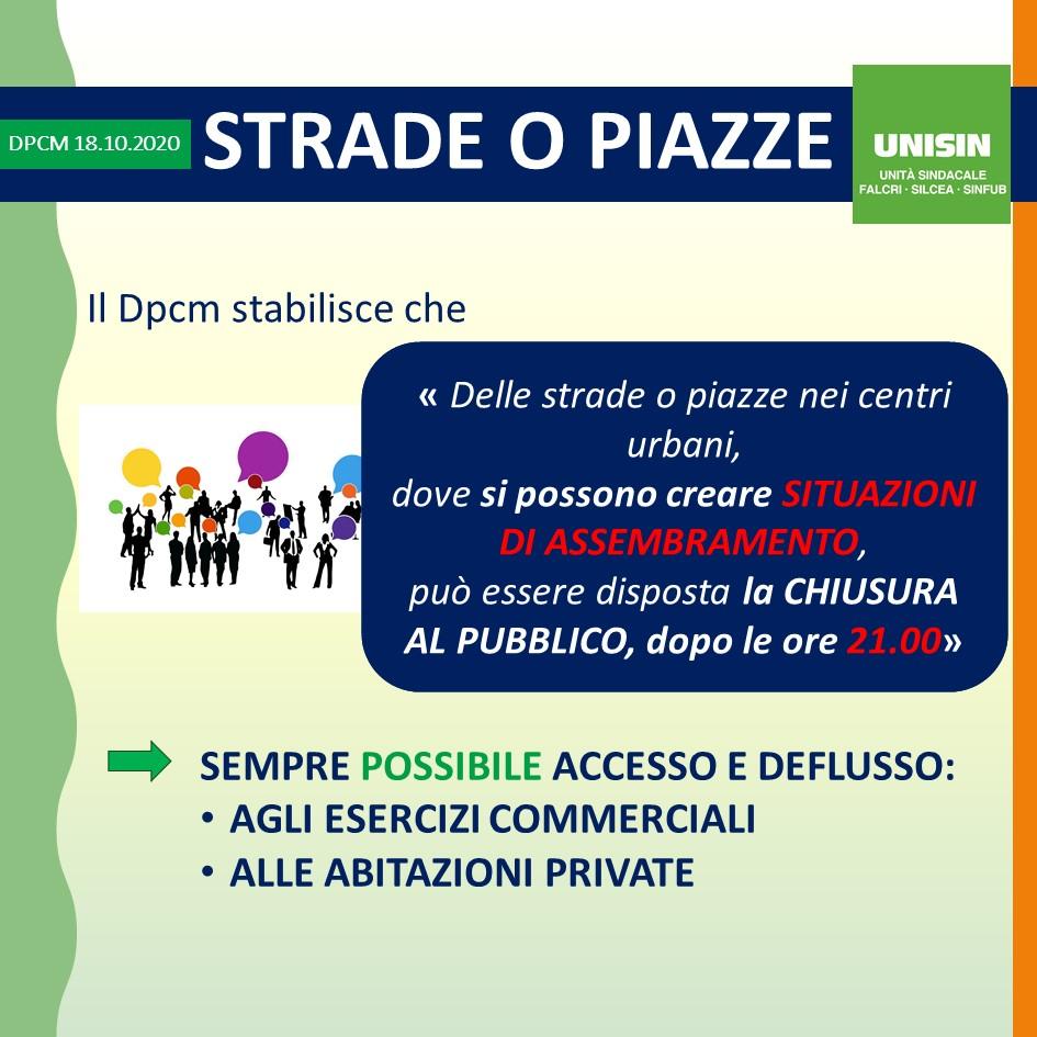 DPCM 18 Ottobra 2020 - Slide2