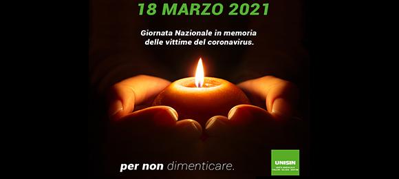18 MARZO 2021 - PER NON DIMENTICARE