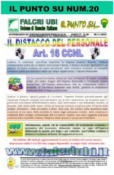 IL PUNTO  SU NUM.20/2010 - IL DISTACCO DEL PERSONALE