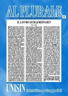 Al Plurale n.5/2014
