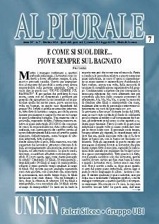 Al Plurale n.7/2014