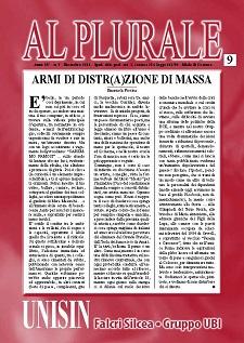Al Plurale n.9/2014