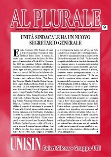 Al Plurale n.9/2013