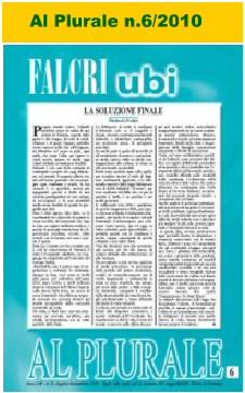 Al Plurale n.6/2010