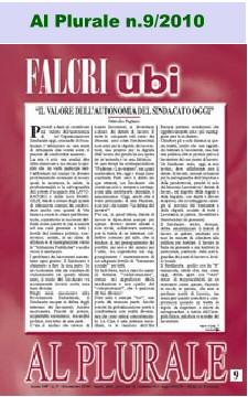 Al Plurale n.9/2010